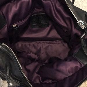 Coach Bags - Black Leather Coach Bag